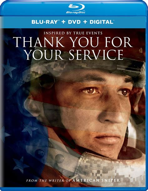 thank you for your service dvd release date january 23 2018