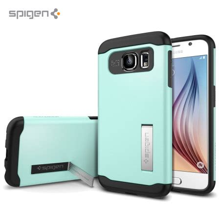 Sgp Slim Armortpu Combinationkickstsamsung Galaxy S6 spigen slim armor samsung galaxy s6 mint