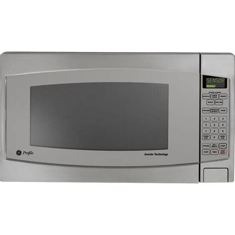 Ge Countertop Microwave Reviews by Ge Profile 2 2 Cu Ft Countertop Inverter Microwave In