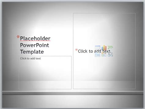 Placeholder Template add images as placeholder in powerpoint templates
