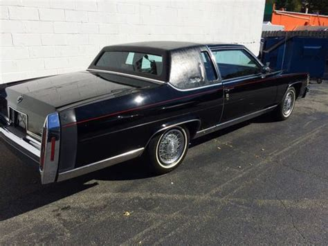 1984 Cadillac Fleetwood Coupe Buy Used 1984 Cadillac Fleetwood Brougham Coupe In Edison