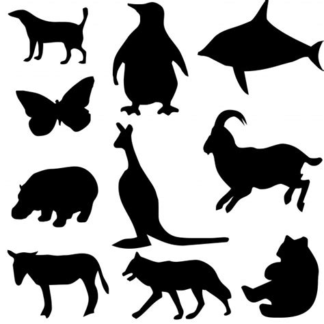 animal silhouettes new calendar template site
