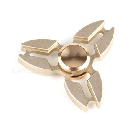 Fidget Spinner Metalic Finger Spiner Besi Stainless Steel Gangsing metal zinc alloy tri fidget finger spinner golden free shipping dealextreme