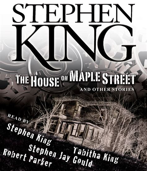 king house the house on maple street audiobook on cd by stephen king