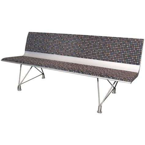 aluminium benches polished aluminum and washed velvet bench for sale at