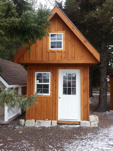 prefab cottages ontario 12 by 12 bunkie with loft studio design gallery