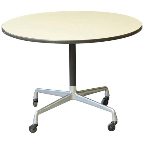 eames side table eames aluminum side table on casters for