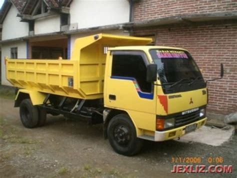 mitsubishi 120 ps dump truck 2006 contion mobil