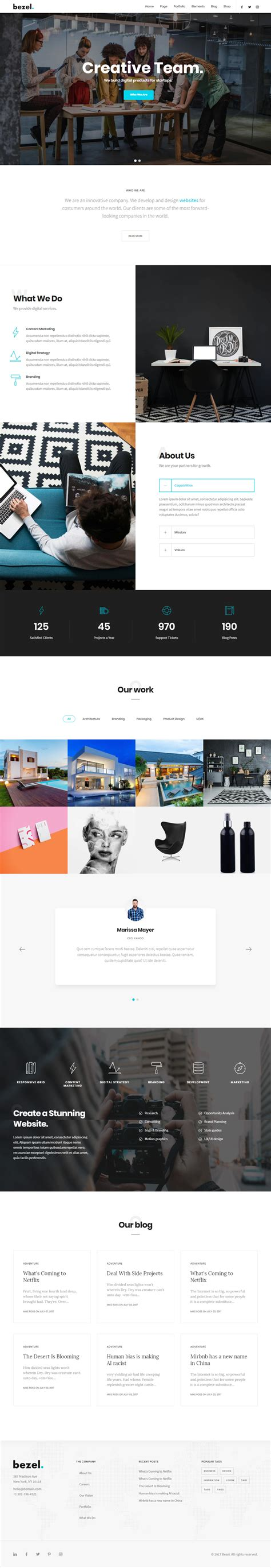 40 Best Drupal 8 Themes And Templates 2017 Responsive Miracle Drupal 8 Page Template For Content Type