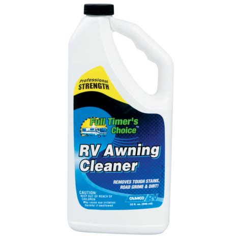 rv awning cleaner camco full timer s choice rv awning cleaner 32 oz by
