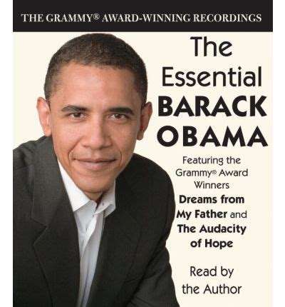 autobiography of barack obama dreams from my father the essential barack obama by barack obama audiobook cd