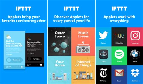 ifttt apk apk magic ifttt renames recipes to applets and redesigns app in v3 0 update