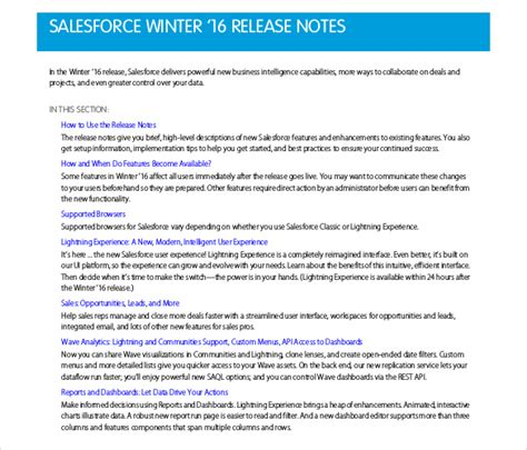 software release notes template word software release notes template word 28 images what