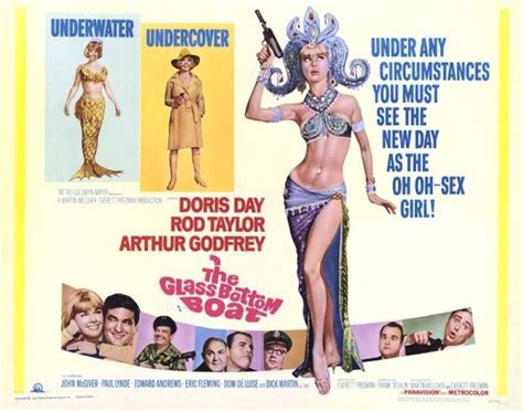 glass bottom boat actors 41 best images about doris day movie posters on pinterest