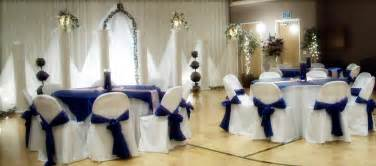 royal blue and silver wedding decorations living room