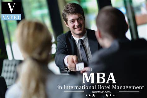 For Mba Hospitality Management by Madrid Mba Vatel Madrid Programa Idioma Espa 241 Ol