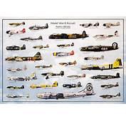 World War II Aircraft Laminated