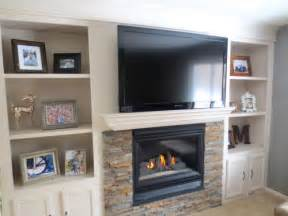 fireplace with built in bookshelves remodelaholic fireplace makeover with built in shelves