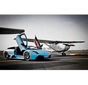 Lamborghini Murcielago Vs Plane Wallpaper  HD Car Wallpapers