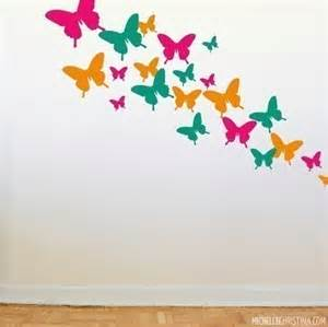 Butterfly Stickers For Wall Butterfly Wall Decals Wd1073
