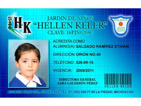 credenciales escolares formato credenciales en pvc orizaba credenciales escolares