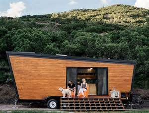 Woody tiny house on wheels cost only 50 000 to build