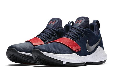 Sepatu Basket Nike Paul George Pg 1 Navy Yellow nike pg 1 usa 878627 900 sneakernews