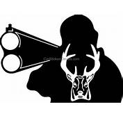 Decals / Deer Hunting Stickers And Man Shooting Sticker