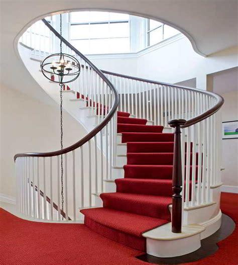 contoh model karpet tangga putar tangga rumah