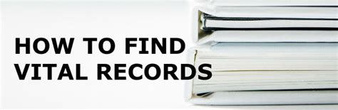 Records Search Marriage Vital Records Search How To Find Birth Marriage And