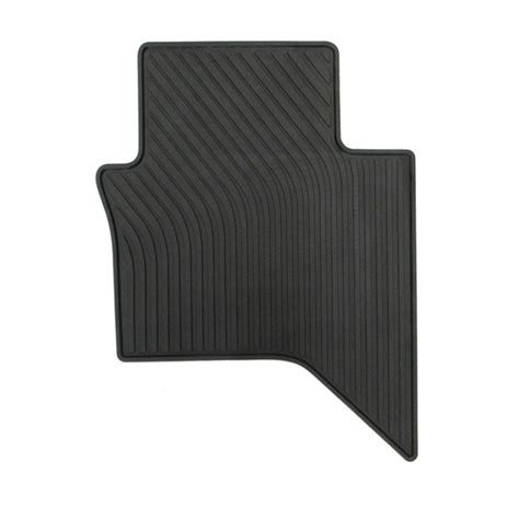 Toyota Hilux Rubber Floor Mats Rubber Floor Mats Fits Toyota Hilux 15 Onward Dual Cab