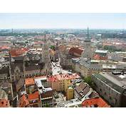The View From Top Of Frauenkirche Showing Marienplatz