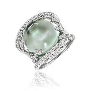 International rings gt fashion gt gabriel amp co pearl amp diamond ring