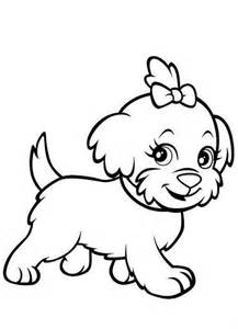 Puppy Coloring Pages With Printable  sketch template