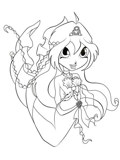 chibi mermaid lineart by kaitoucoon on deviantart bloom chibi mermaid lineart by azuraxp on deviantart