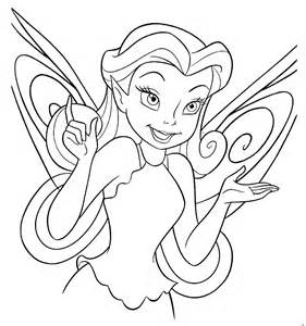 comments for Disney Fairy coloring pages:
