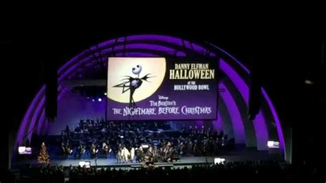 danny elfman nightmare before christmas hollywood bowl danny elfman nightmare before christmas at the hollywood