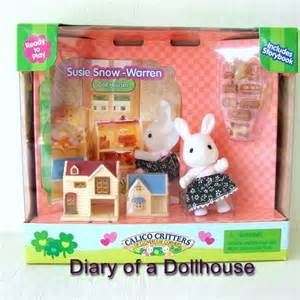 tiny calico critters dollhouses for my littlest pet shop