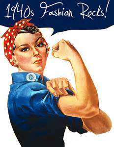 Credit we can do it rosie the riveter poster on wiki commons