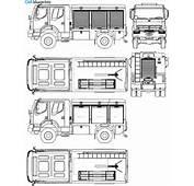 CAR Blueprints / Чертежи автомобилей  Renault Kerax