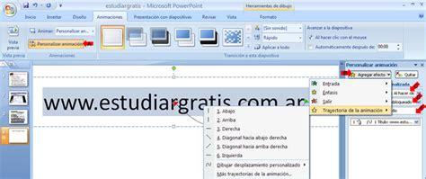 tutorial powerpoint 2007 gratis animaciones en power point auto design tech