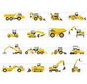 Construction Machines Vector Graphics  2mb Eps
