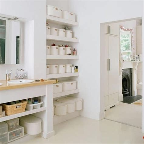 Storage Ideas For Bathroom by 73 Practical Bathroom Storage Ideas Digsdigs