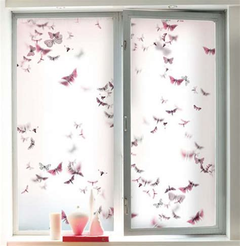 French Livingroom decorative window film for office kitchen or living room