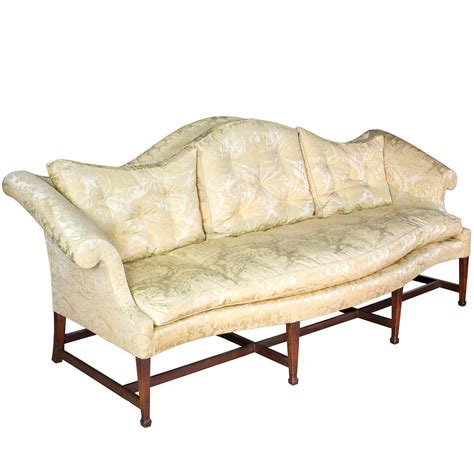 camelback sofas for sale mahogany hepplewhite camelback sofa with serpentine back
