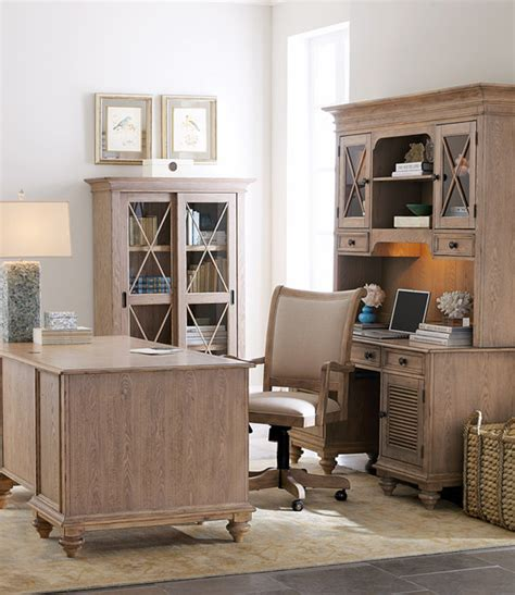Houzz Office Desk Quot Clarendon Quot Office Furniture Traditional Home Office Other Metro By Horchow