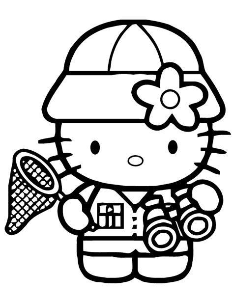coloring page hello kitty ballerina free coloring pages of kitty ballerina