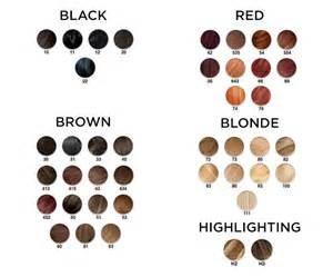 %name Brown Hair Color Chart   These Hair Color Charts Will Help You Find the Perfect Shade Every Time