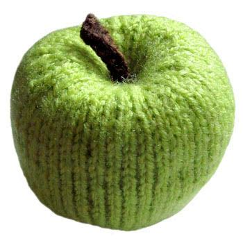 knitted apple pattern knit pattern food easy knit patterns