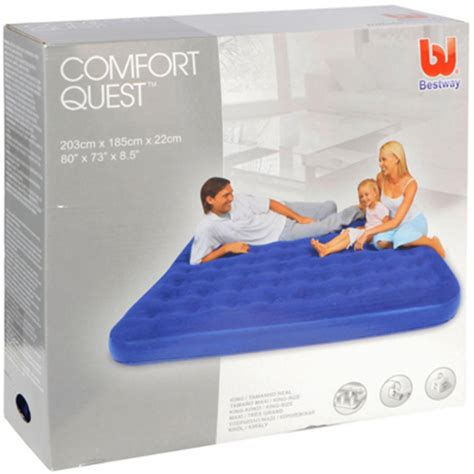 Kasur Cing kasur angin single bestway king comfort quest murah